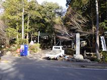 伊吹の滝 駐車場
