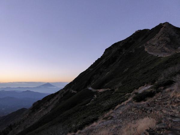 赤岳展望荘 夜明け