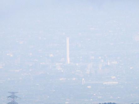 藤原岳山頂からの眺め