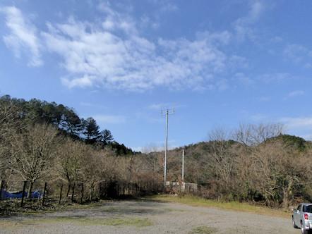 八曽モミの木キャンプ場 駐車場