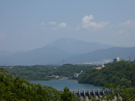 東雲大橋 恵那山