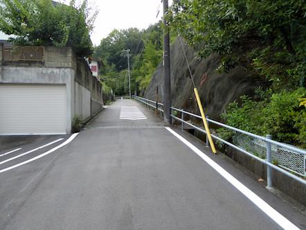 愛宕山 西登山道 入口