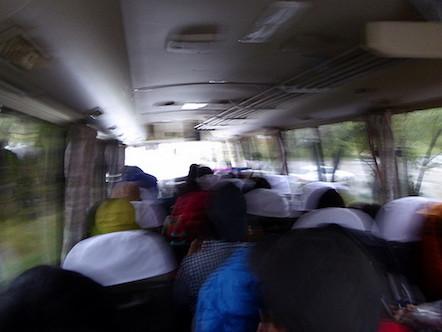 穂高駅 中房温泉 バス