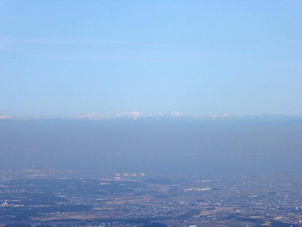 錫杖ヶ岳 山頂からの眺め 南アルプス