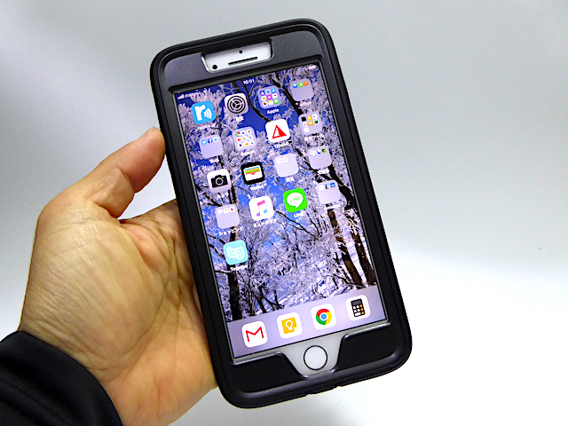 i-Blason iPhone7 Plus/8 Plusケース バンカーリング