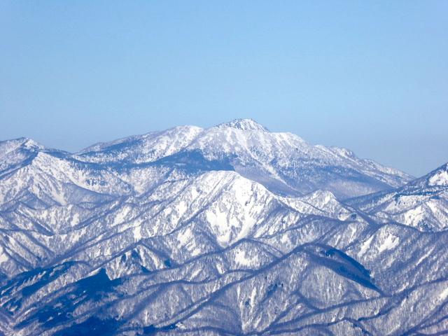 唐松岳 山頂からの眺め
