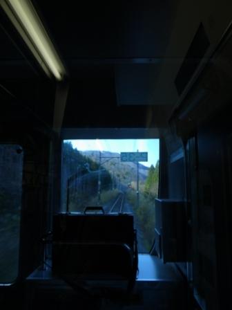 仙山線 前面展望