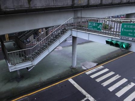 台北 歩道橋