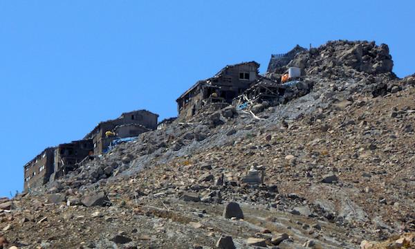 御嶽山 剣ヶ峰 規制区域