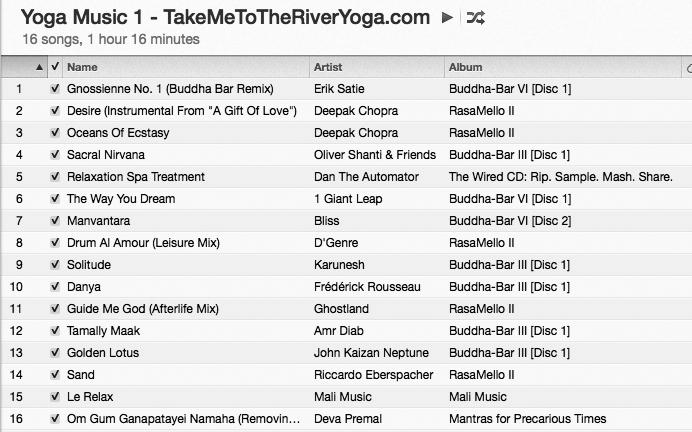 YogaMusicTakeMeToTheRiverYoga1