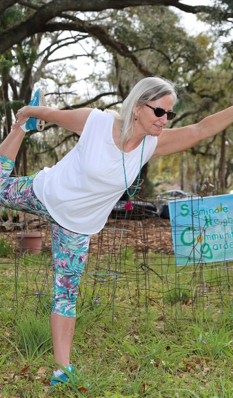 Yoga in the Garden - Saturdays 9:30 - 10 am - Seminole Heights Community Garden