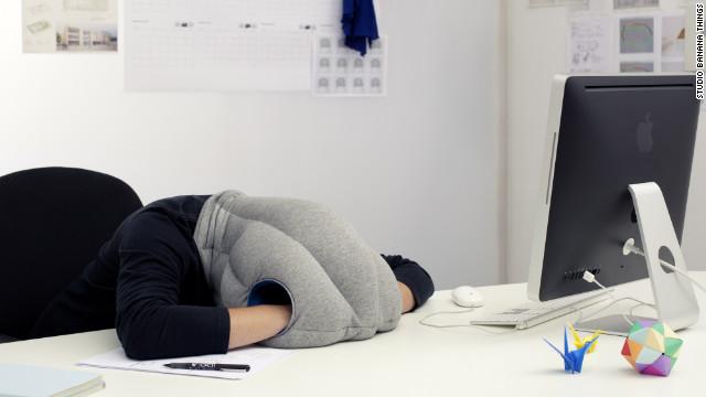 take an undisturbed power nap at work