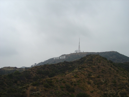 hollywood hills and sign