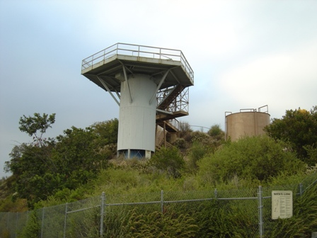 observation tower, la96c cold war missile site