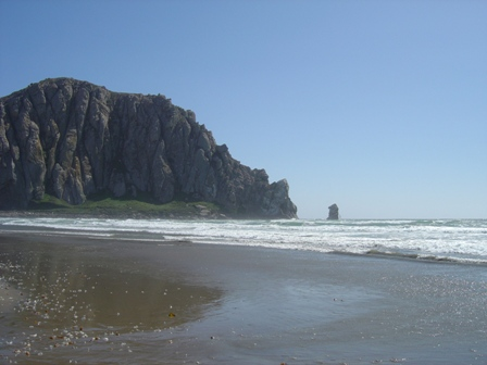 morro rock at morro bay