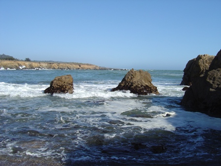pacific coast highway rocky coastline