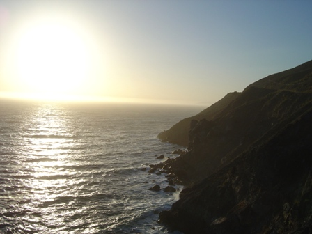 pacific coast highway, rocky coastline