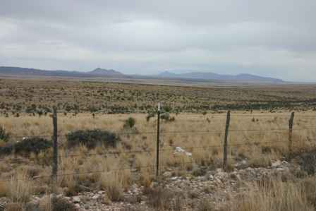 US 62 180 outside Guadalupe Mountains Park