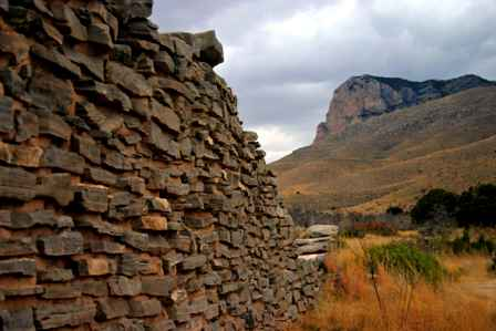 butterfield stage ruins, Guadalupe Mountains National Park, Texas
