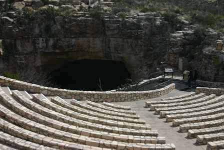 Bat Cave Amphitheatre, Natural Entrance, Carlsbad Caverns