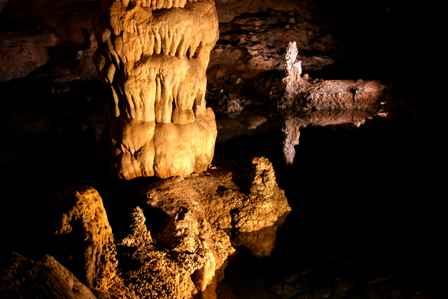 Devil's Spring, Natural Entrance, Carlsbad Caverns National Park