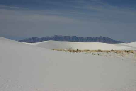 Alkali Flats Trail, White Sands National Monument New Mexico