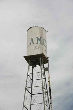 La Mesa Water Tower, New Mexico
