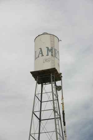 La Mesa Water Tower, New Mexico