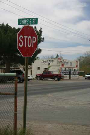 Chope's Street, La Mesa New Mexico