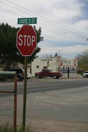 Chope's Street, La Mesa New Mexico