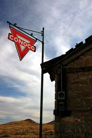 Conoco Station Ruins, Lake Valley Ghost Town, New Mexico