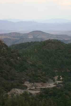 View from Emory Pass, Gila Mountains, Route 152