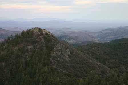 Gila Mountains Viewpoint at Emory Pass