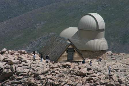 Meyer Womble Observatory, Mt. Evans