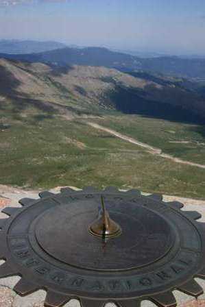 View from the Top of Mt. Evans, Colorado