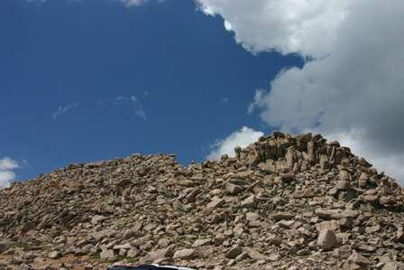 Top of Mt. Evans