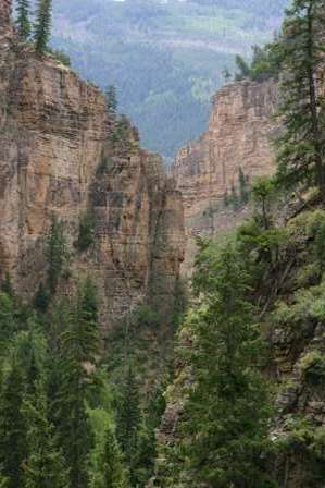 Glenwood Canyon Colorado, Hanging Lake Trail
