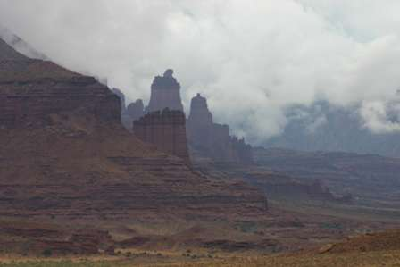 Fisher Towers, Upper Colorado River Scenic Byway, Utah