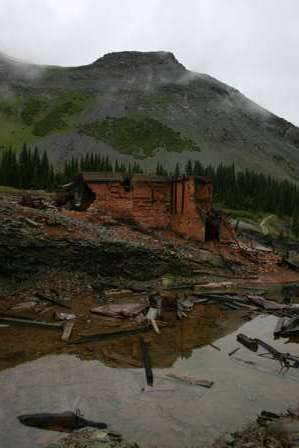 Tomboy Ghost Town and Mine Ruins