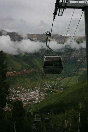 Telluride Gondola Chair Lift Ski