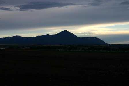San Juan Skyway view of Mountains