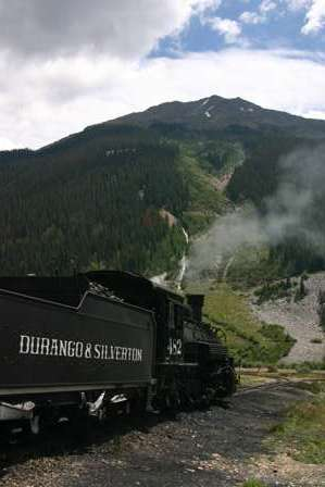 Durango Silverton Narrow Gauge Railroad D&SNGRR train