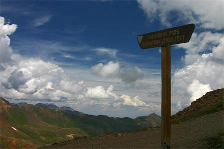 California Pass and Gulch, 4wd road near Silverton, Colorado