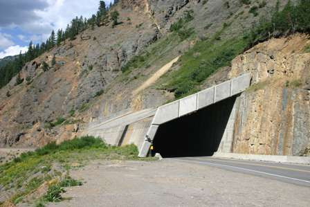 snow shed snowshed million dollar highway