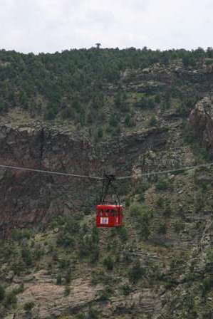 gondola ride, royal gorge park, canon city colorado