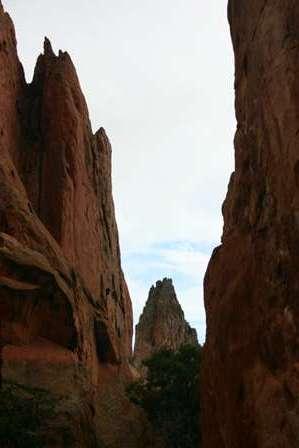 rock outcroppings at Garden of the Gods, Colorado Springs