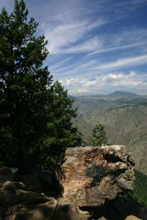 Lookout Mountain, above Golden Colorado