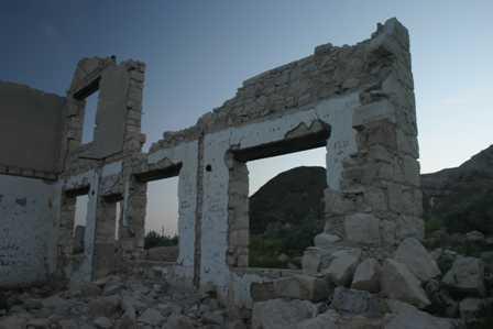 Old Building Rhyolite Ghost Town