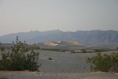 Stovepipe Wells Sand Dunes - Death Valley National Park
