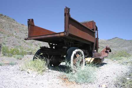 Scotty's Castle, Old Truck, Death Valley